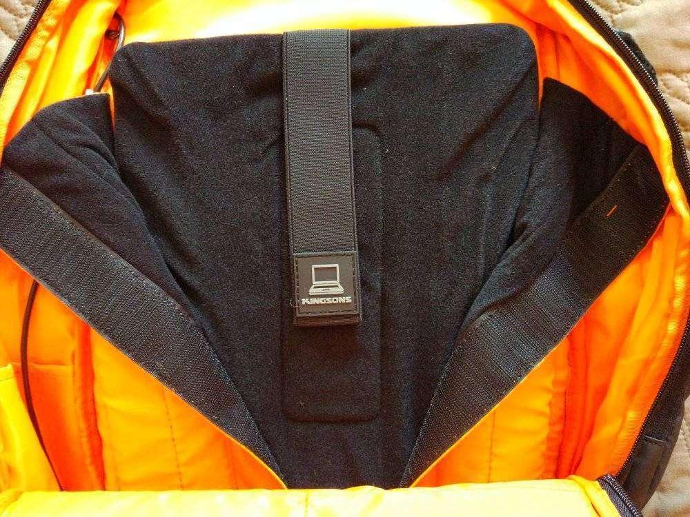 TVC-Mall: Влагозащищенный рюкзак для ноутбука 15,6' от KINGSONS. Плюс 'противоугонный' карман