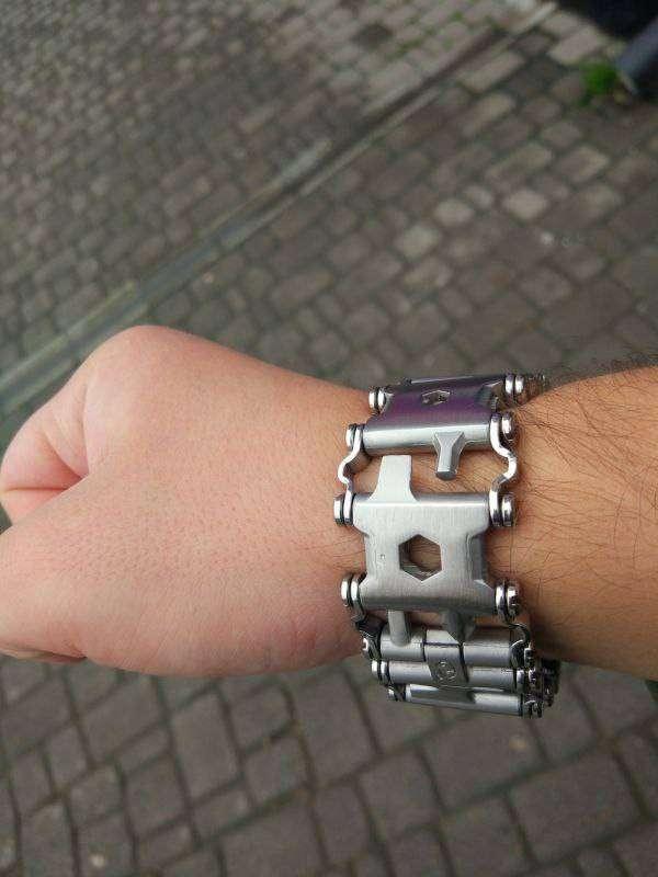 Другие - Китай: Китайский браслет-мультитул в стиле Leatherman Tread