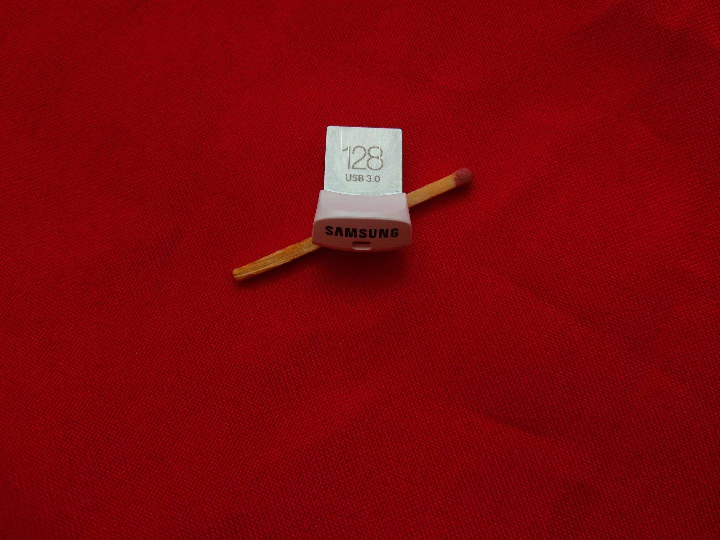 Другие - Китай: Samsung FIT 128G USB 3.0 - миниобзор нано USB флешки