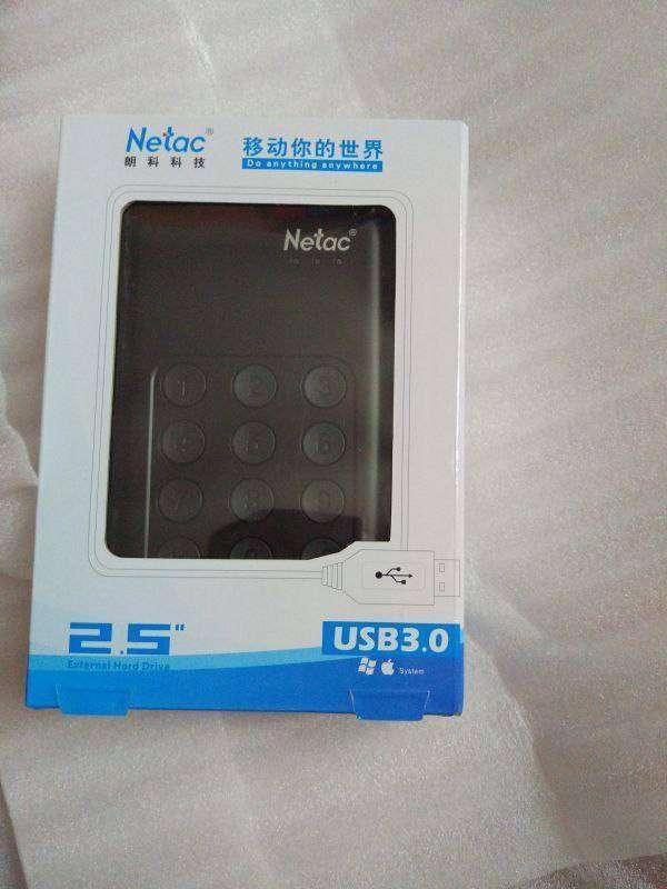 Другие - Китай: Netac K390. Внешний диск с AES-256 шифрованием (2TB USB 3.0 2,5')