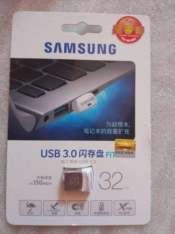 TomTop: Нано обзор пико/фемто-флешки Samsung FIT 32G USB 3.0