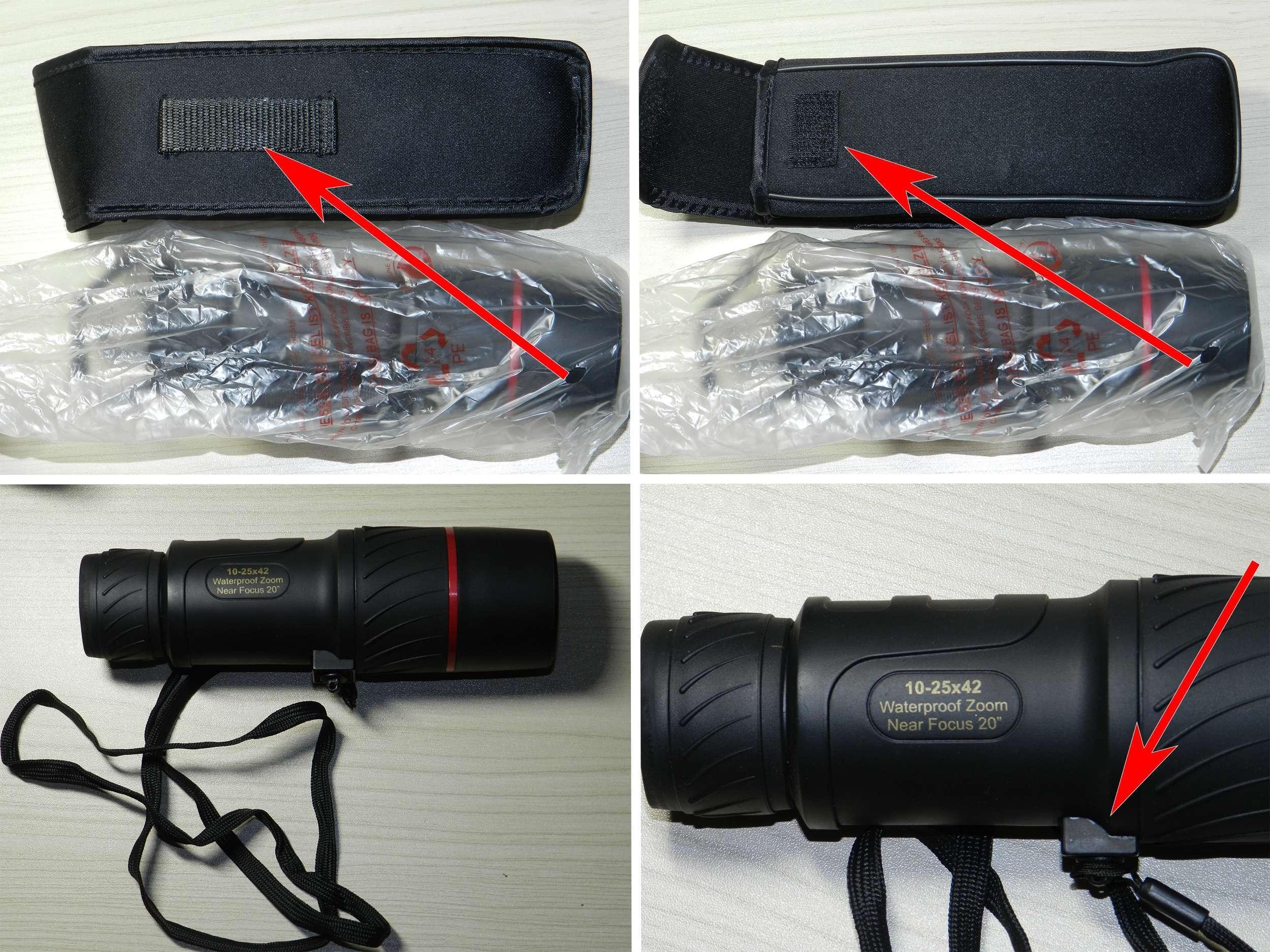TomTop: Обзор и тест монокуляра VisionKing 10-25x42