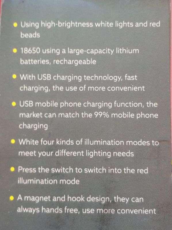 Другие: Кемпинговая лампа под 18 650 с магнитом и функцией павербанка