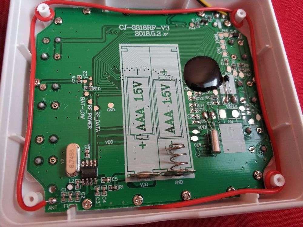 Другие: Бытовой термометр KKmoon 3 в 1 (два выносных датчика!)