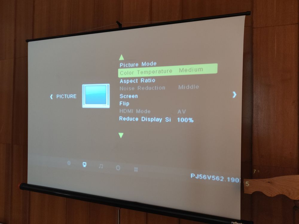 TomTop: Проектор-проигрыватель Transjee A4300  (3800 люмен 720P)