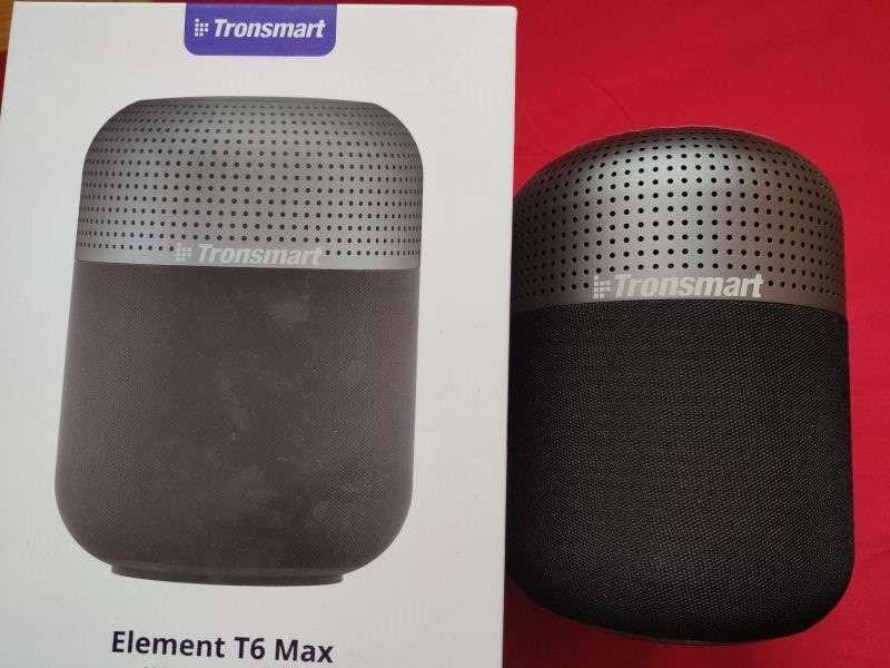 Aliexpress: Беспроводная колонка Tronsmart Element T6 Max - 2-3 килограмма звука