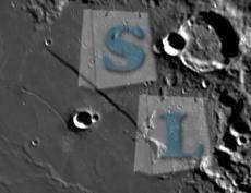 Banggood: Луна в объективе телескопа.