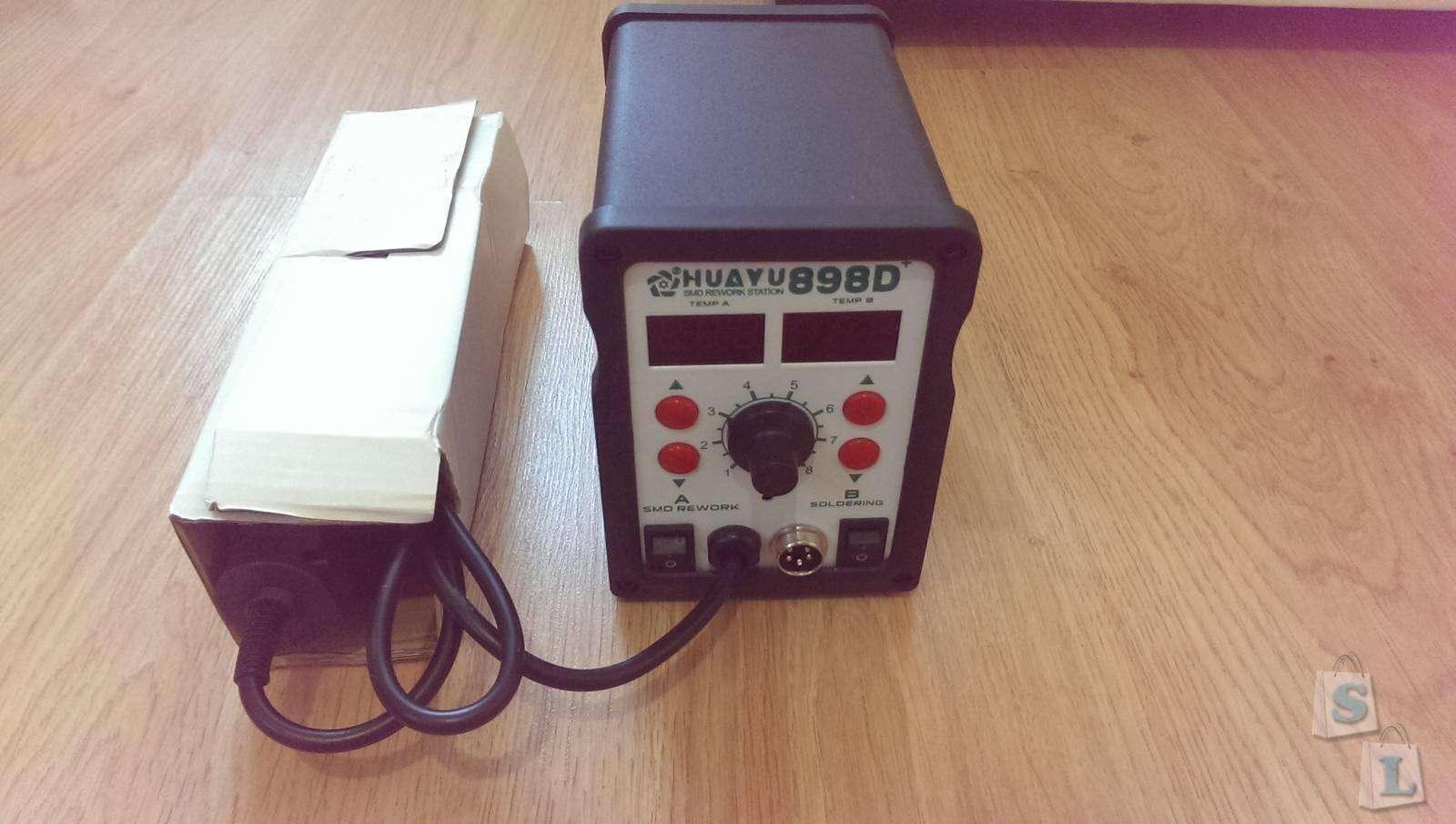 GearBest: Компактная паяльная станция HUAYU H898+