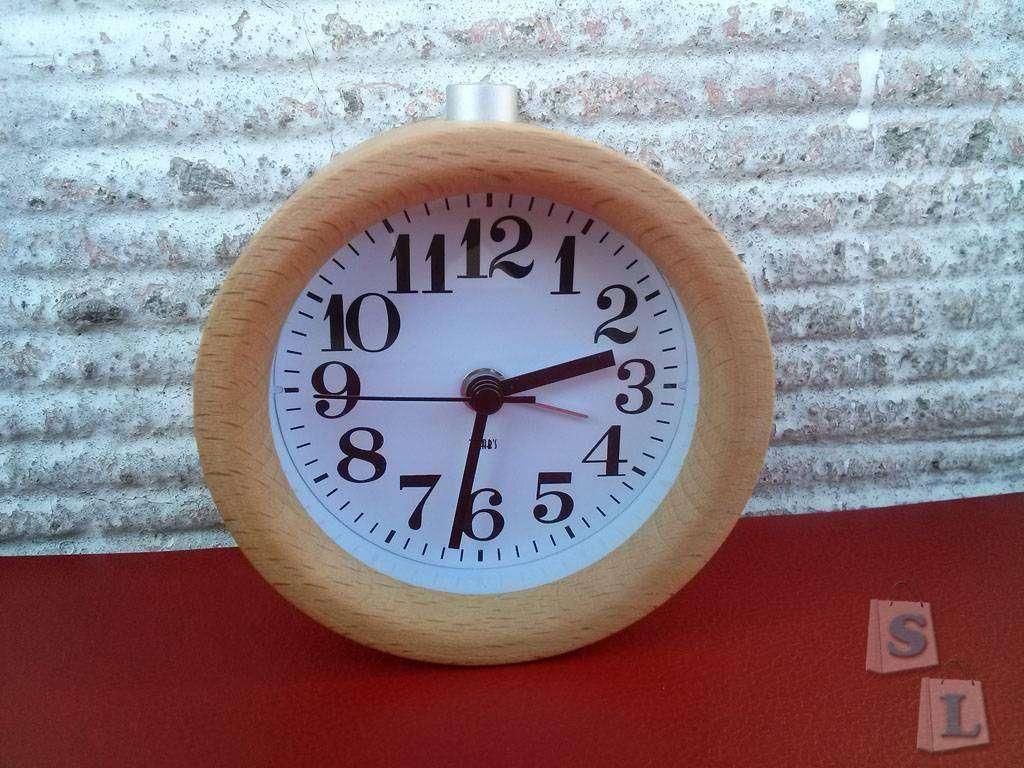 Banggood: Классический будильник T- Lab's в деревянном корпусе