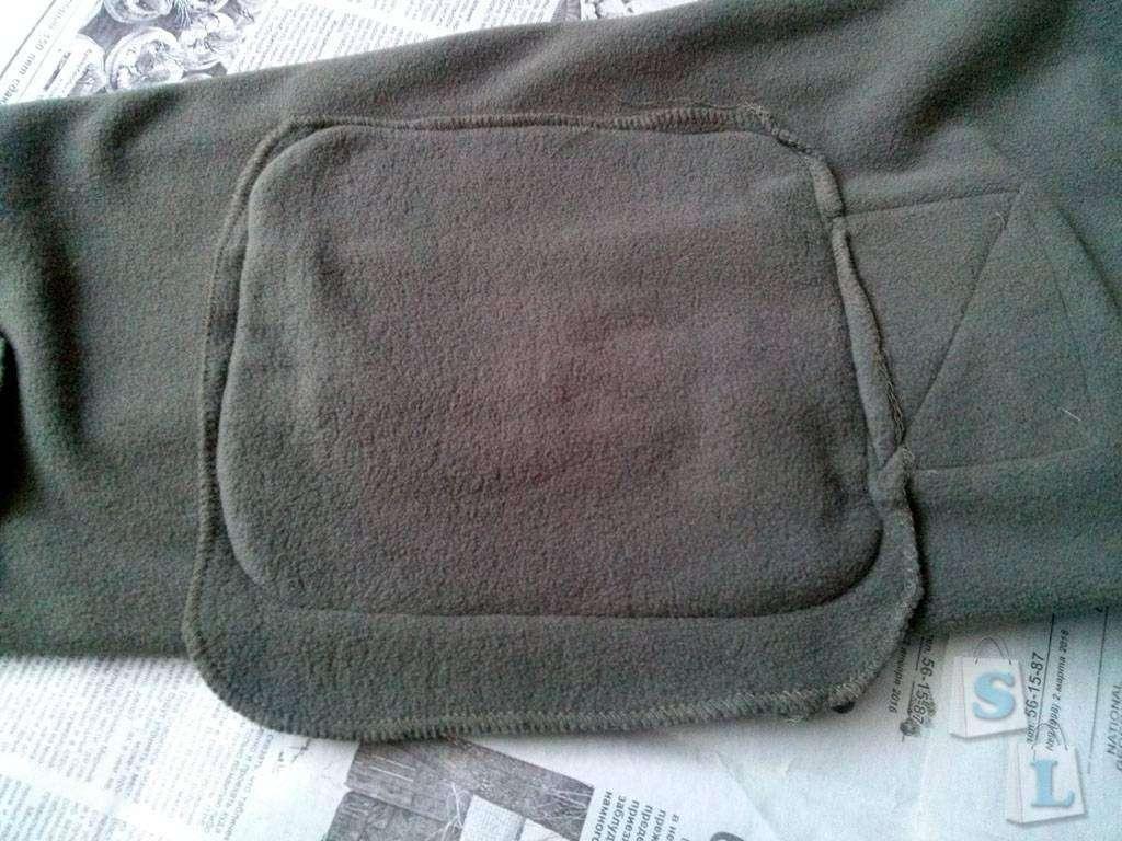 Banggood: Флисовая куртка в милитари стиле
