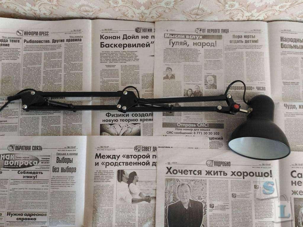 Banggood: Обычная настольная лампа