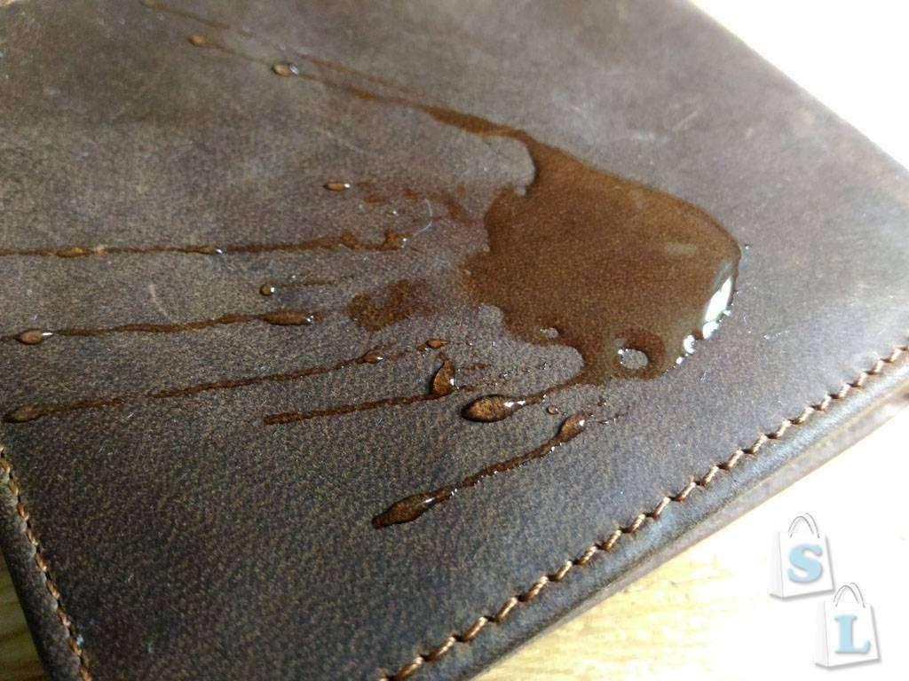 Aliexpress: Мужской кошелек из кожи Crazy Horse