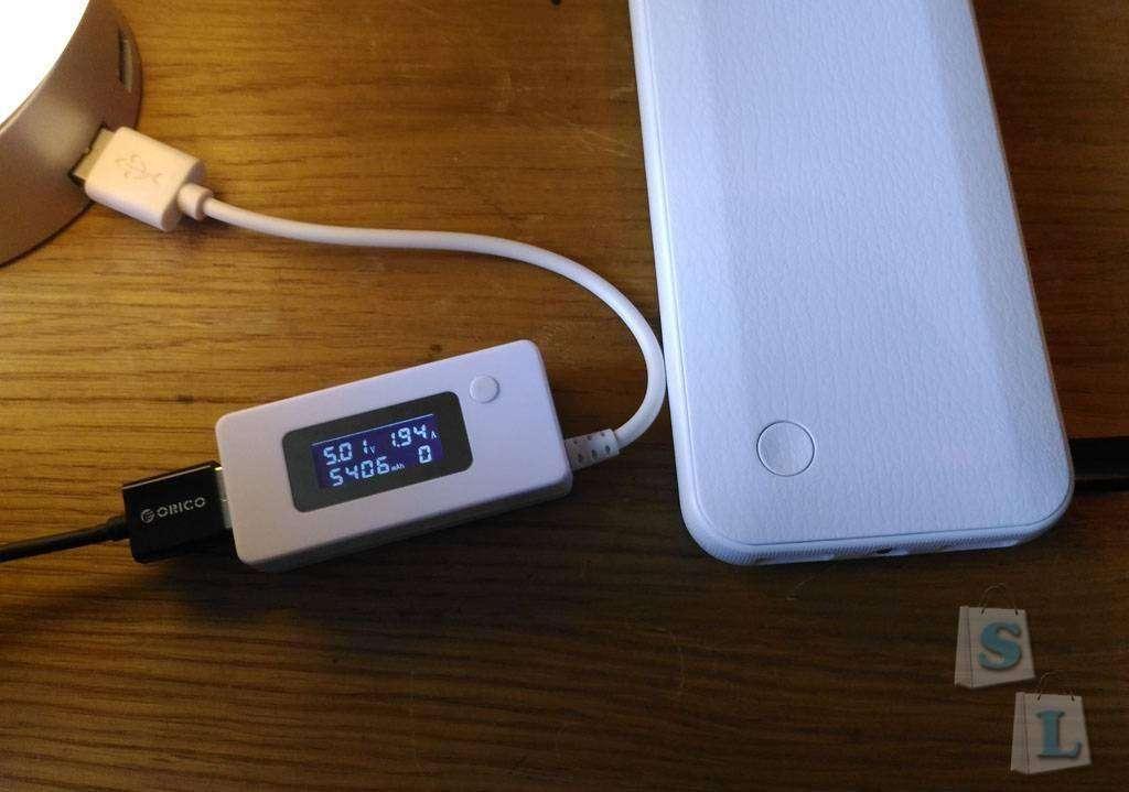 TVC-Mall: Лампа-ночник Seenda с встроенным зарядным устройством на 6 USB-портов