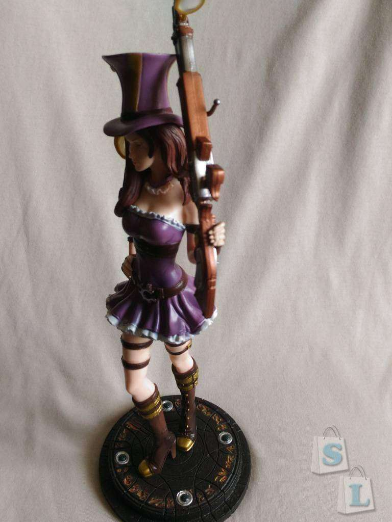 GearBest: Фигурка Caitlyn, The Sheriff of Piltover из игры League of Legends