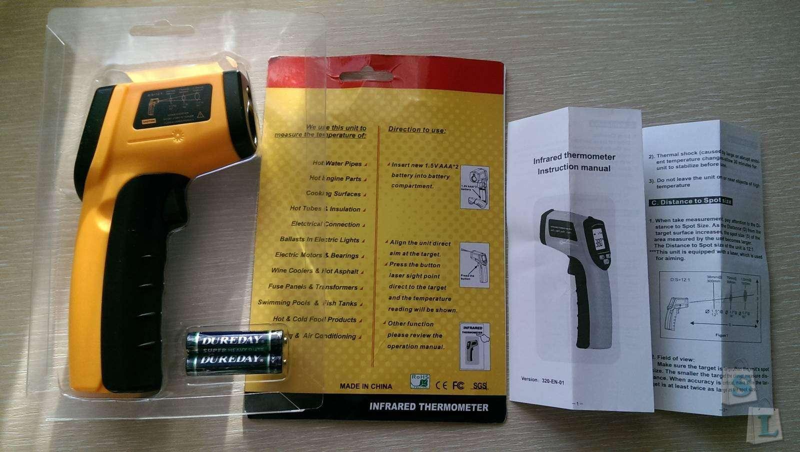 GearBest: Инфракрасный бесконтактный пирометр