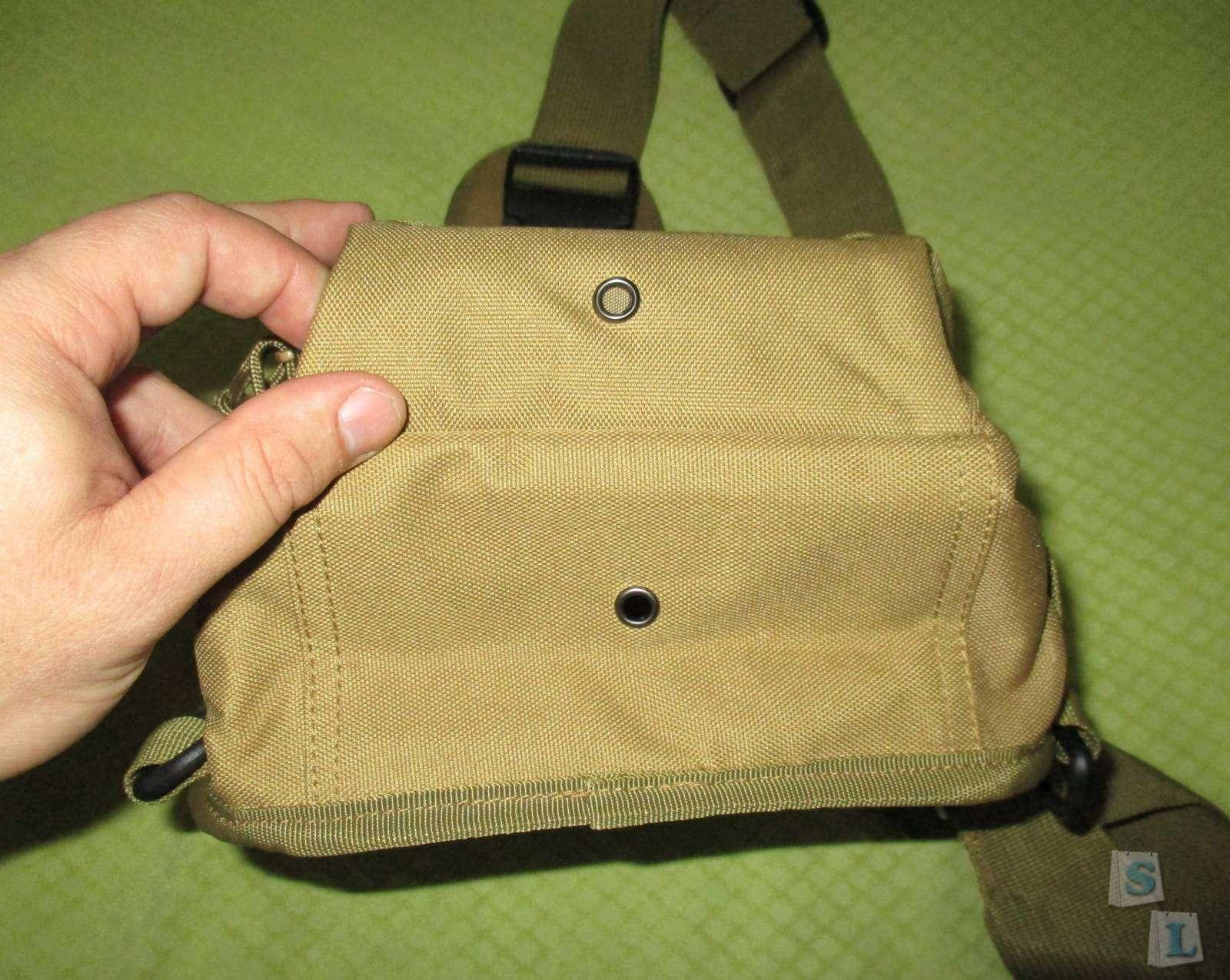 GearBest: Однолямочный тактический рюкзачок из ткани Oxford 600D.
