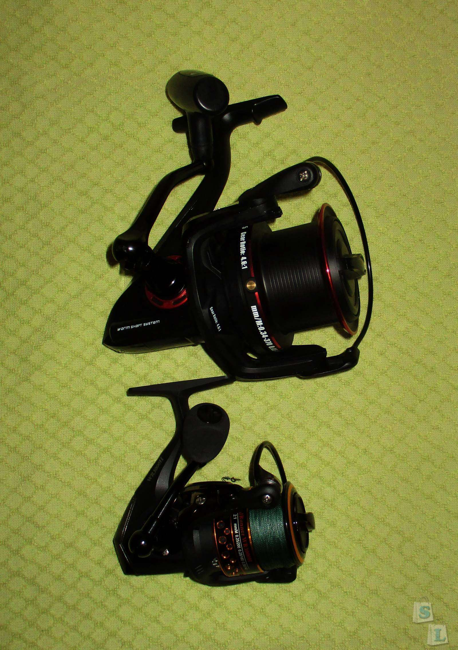 GearBest: Рыболовная катушка COONOR YF9000 с запасной шпулей