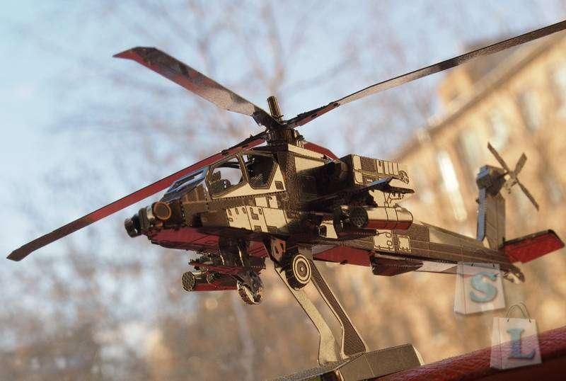 Aliexpress: Сборка и обзор конструктора Apache AH-64A из нержавеющей стали