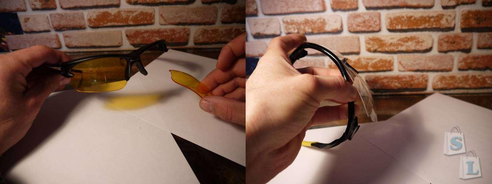 Aliexpress: Очки защитные (вело, мото, очки).