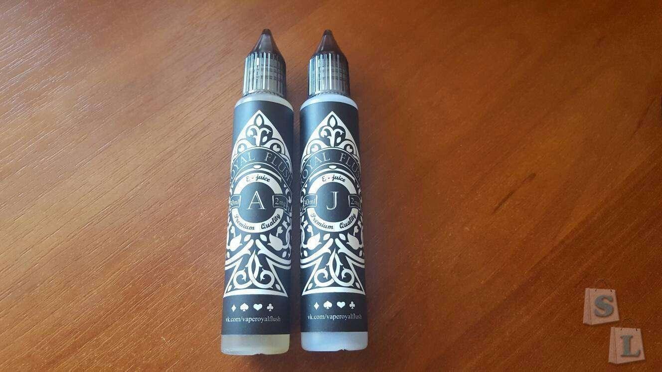Другие - Украина: Жидкости для электронных сигарет «ROYAL FLUSH»