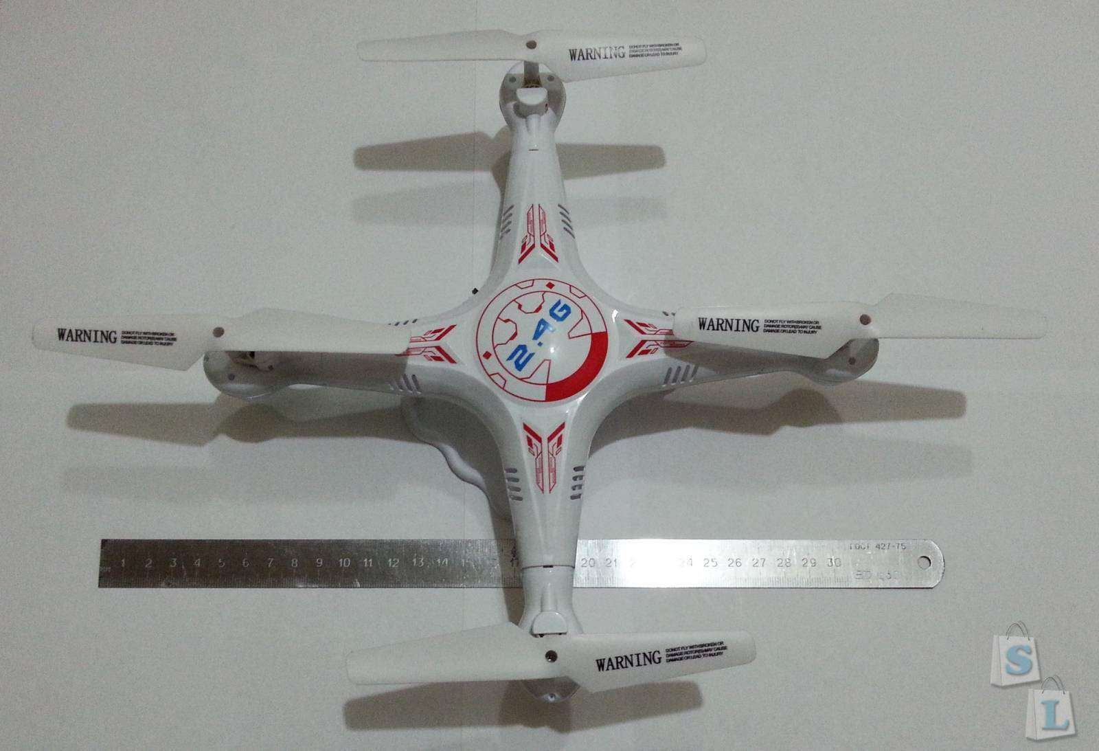 TomTop: Бюджетный квадрокоптер Bayang X5 с отличным функционалом