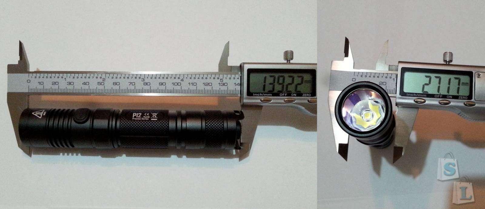 Banggood: Неплохой тактический фонарик Nitecore P12