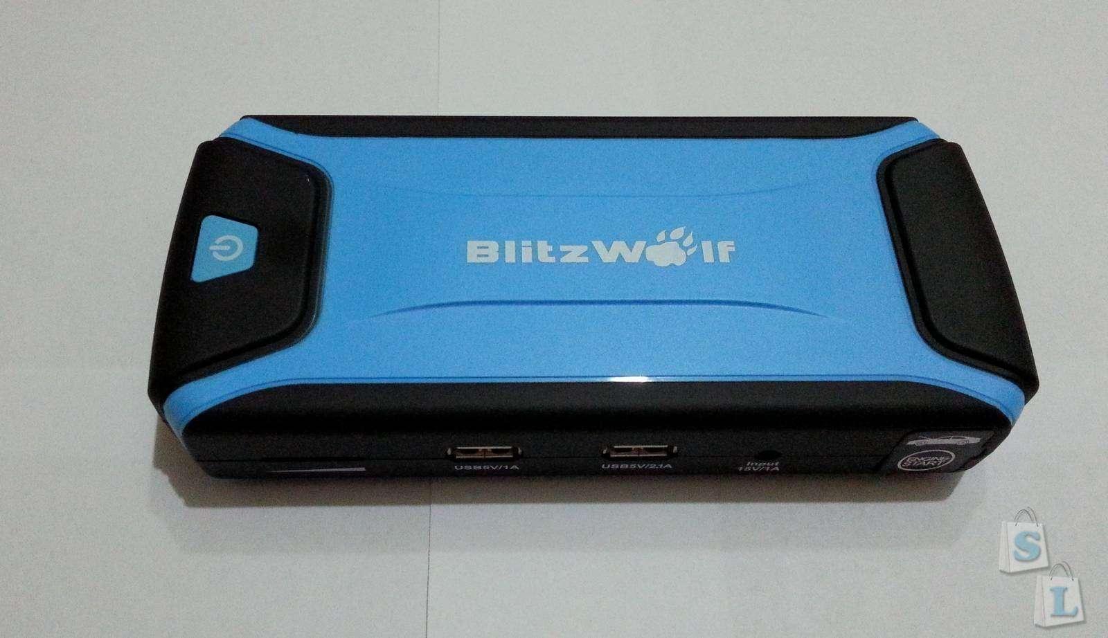 Banggood: Брендовый автомобильный пускач/ПБ BlitzWolf K3 12000mah