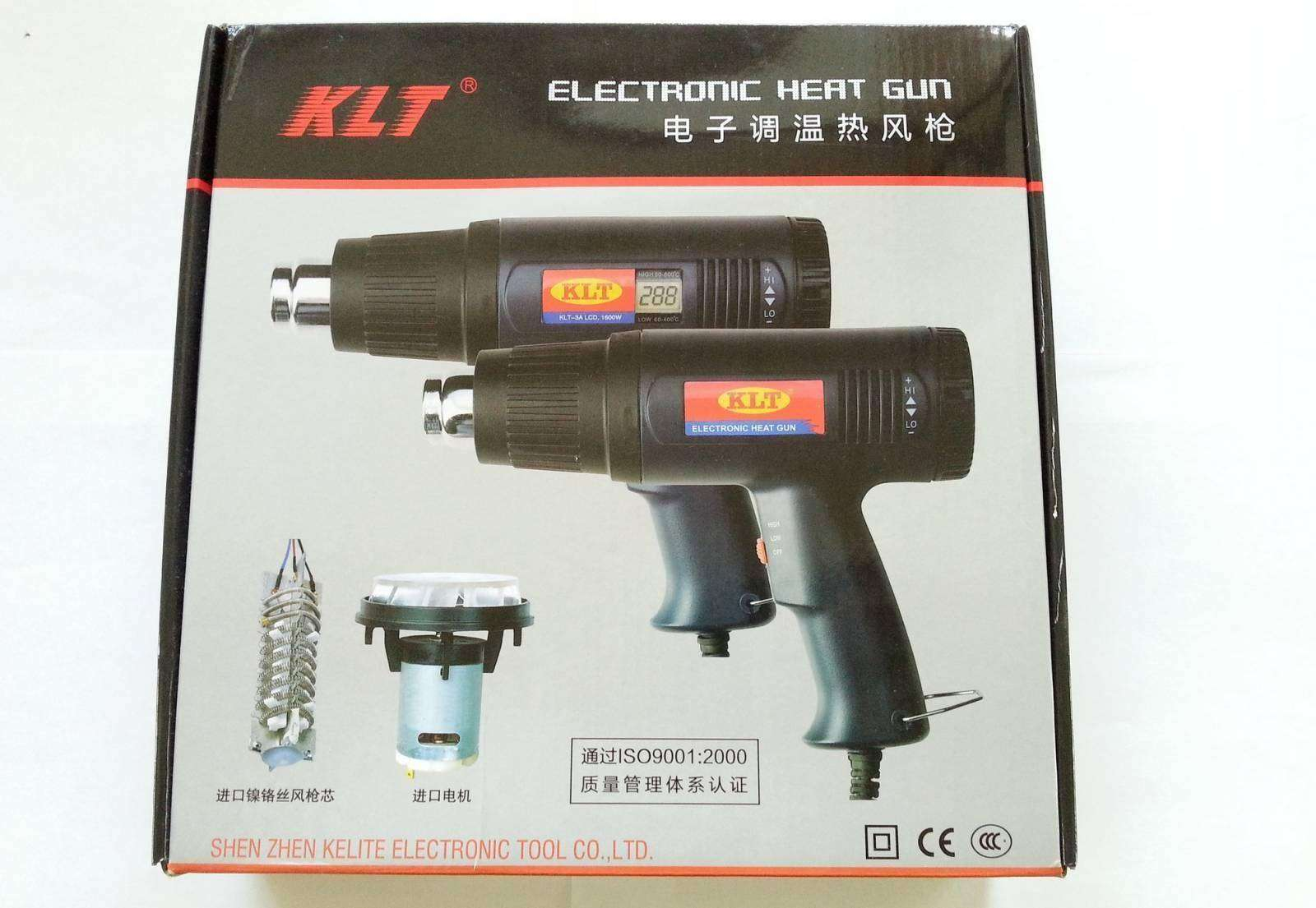 TVC-Mall: Простенький термофен KLT-3A для общего применения