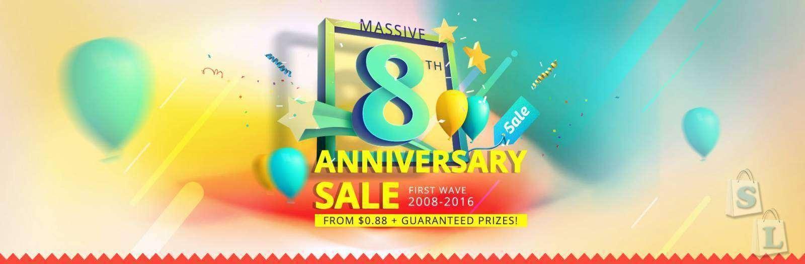 EverBuying: Everbuying.net - 8 лет, распродажи, купоны и подарки!!!