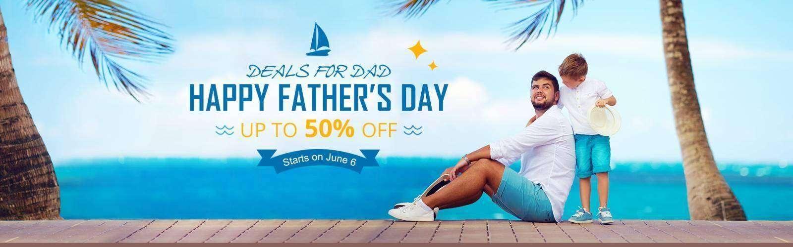 EverBuying: Распродажа в день отца и купон 20% на все товары - Everbuying