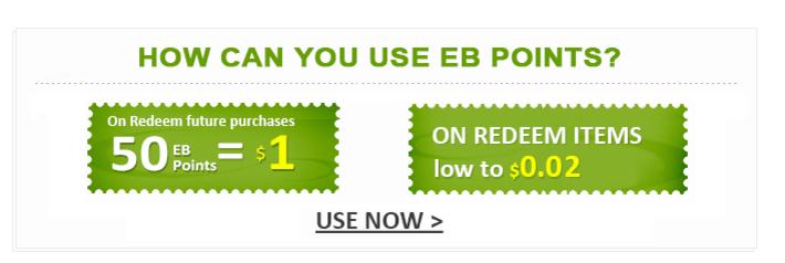 EverBuying: Подарок от магазина Everbuying - 100 поинтов