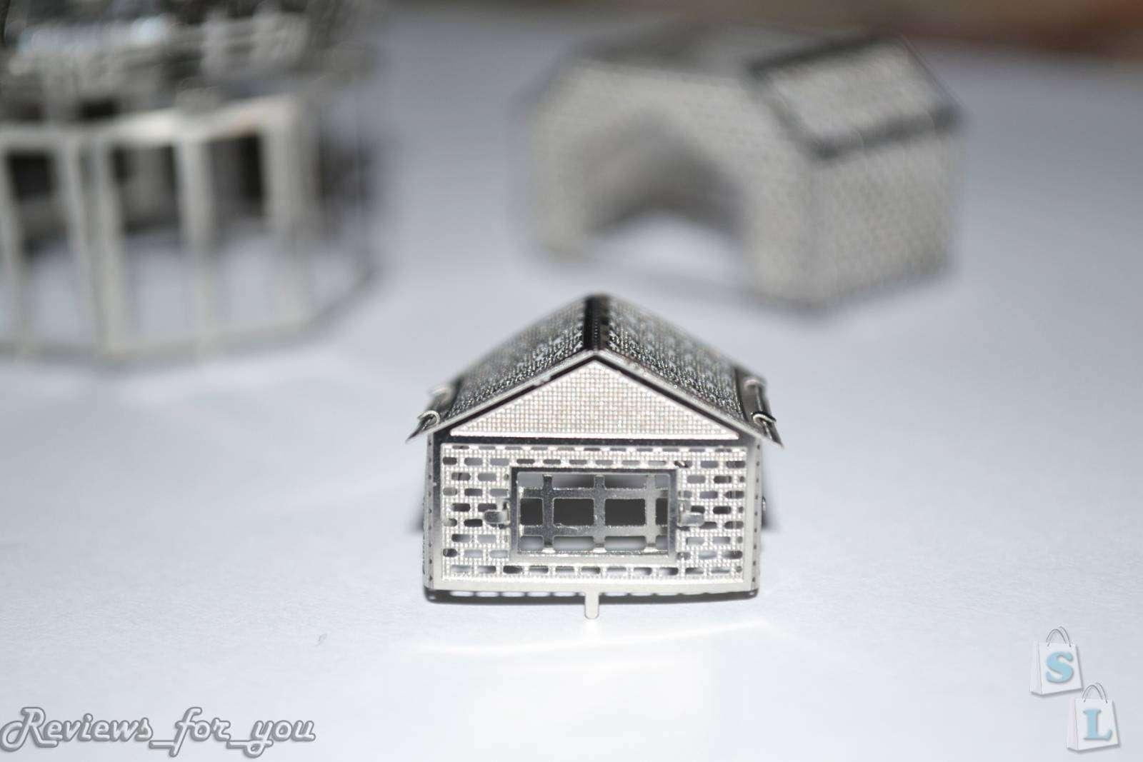 ChinaBuye: Обзор двух метталических 3D пазлов: 'Ветряная мельница' и 'Лондонский мост' (Windmill, London Bridge)