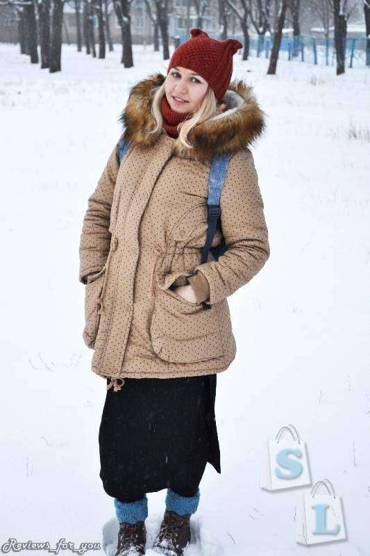 DHGate: Моя любимая зимняя куртка в стиле Mori Girl, парка