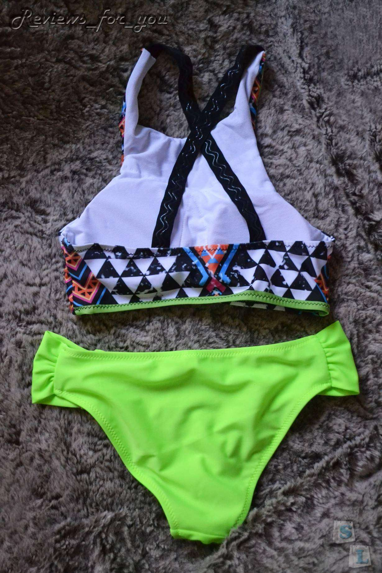 Aliexpress: Яркий купальник бикини, пора готовиться к лету