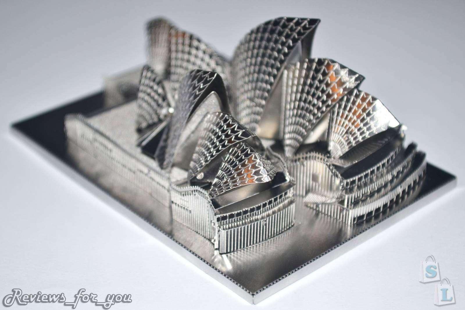 ChinaBuye: Металлический 3D пазл - 'Сиднейский оперный театр', Sydney Opera House Model 3D DIY