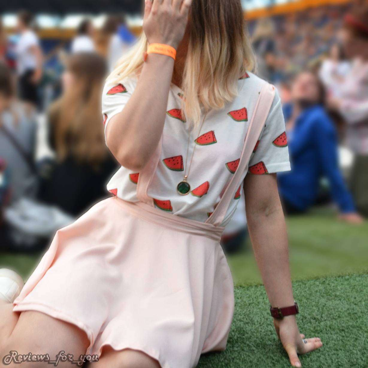 Aliexpress: Женская футболка с арбузиками
