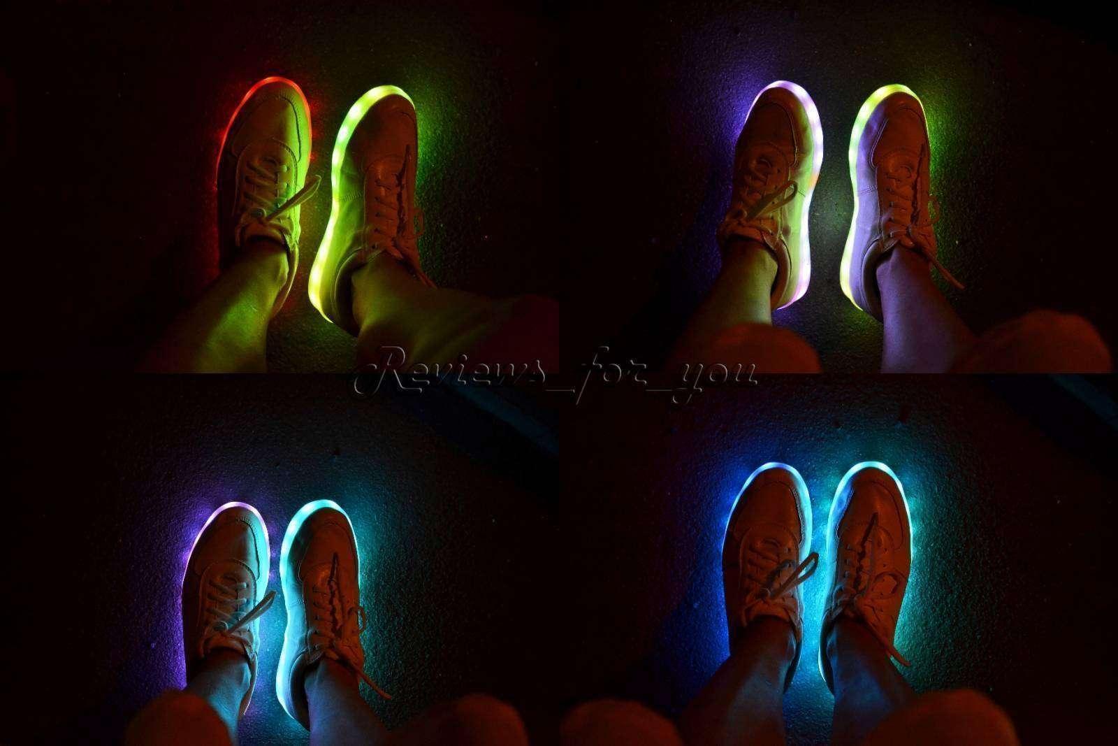 Banggood: Очень крутые LED-кеды, будь в центре внимания