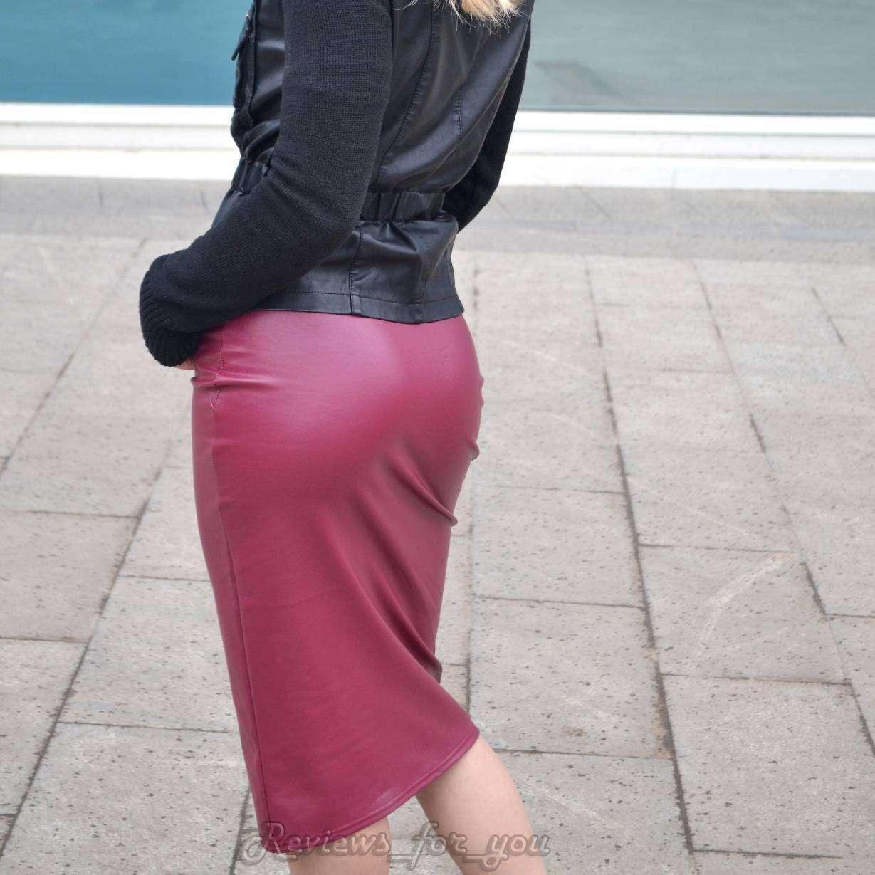 Aliexpress: Моя любимая юбка из кож.зама, отличное приобретение