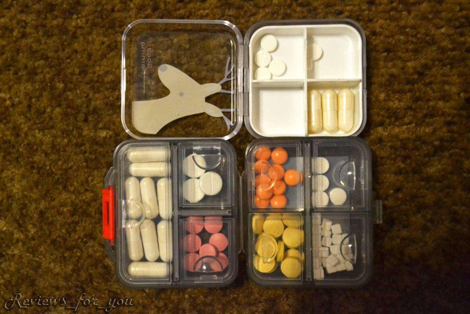 ChinaBuye: Разные таблетницы