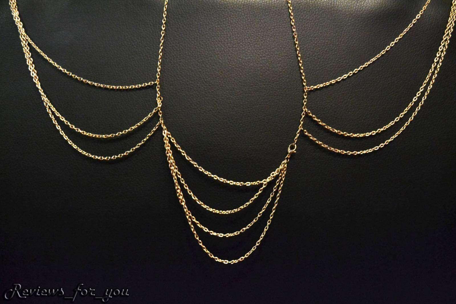 ChinaBuye: Мультиобзор украшений для тела, нательные цепочки