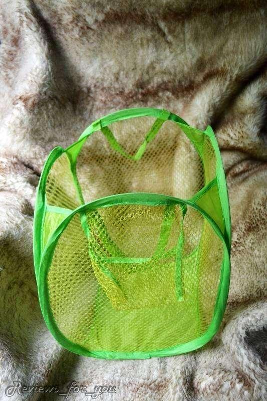 ChinaBuye: Компактная корзина для белья, также отлично подойдет для игрушек и т.п. мелочей