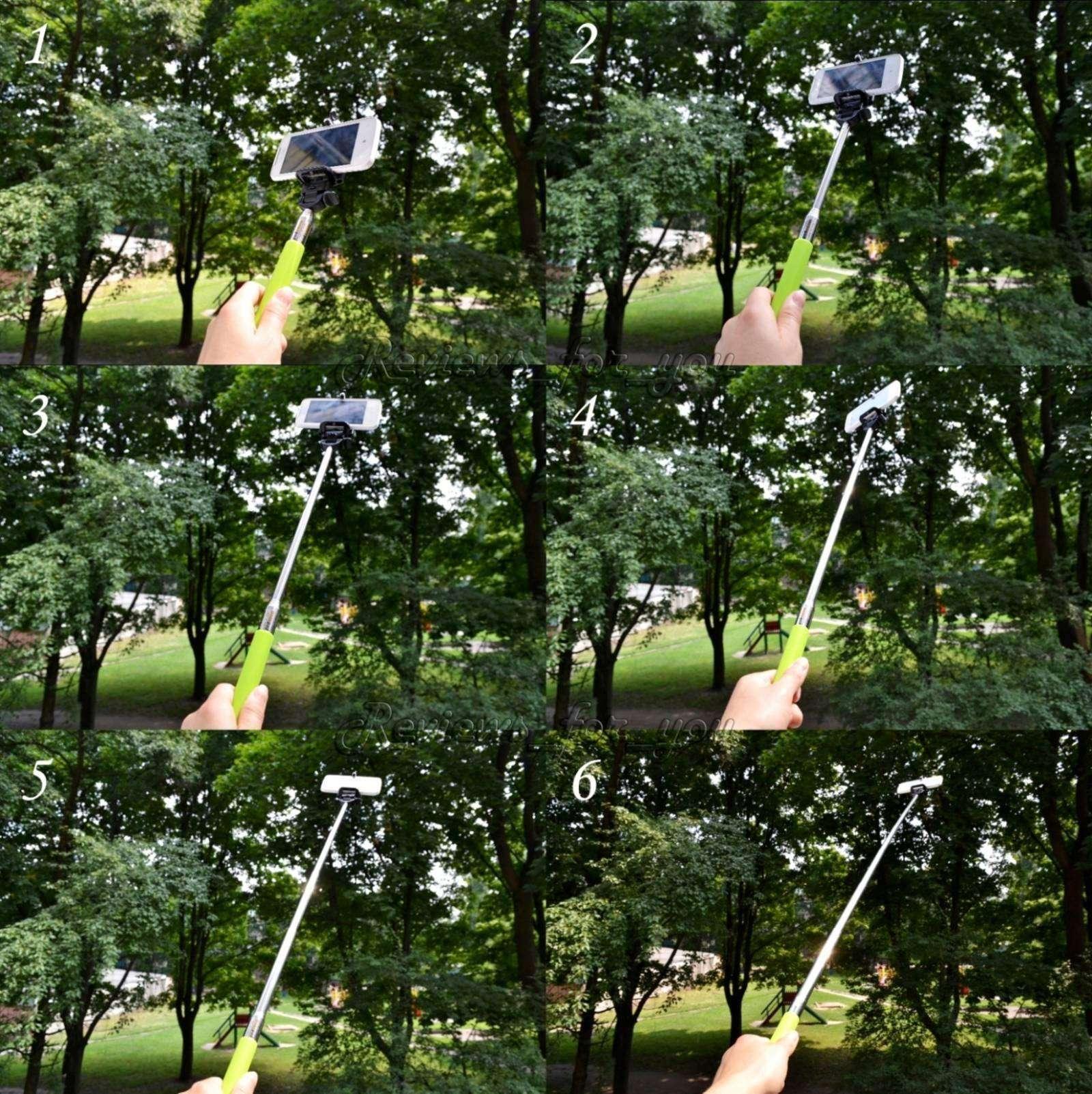 ChinaBuye: Монопод Z07-1, держатель для телефона - делаем селфи :)