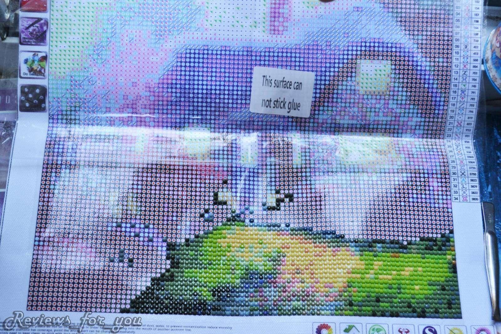 ChinaBuye: Алмазная вышивка (мозаика), радость для рукодельниц