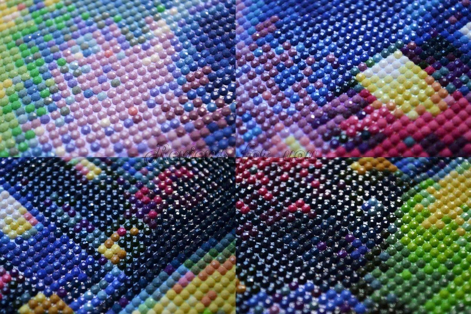 Алмазная вышивка (наборы, мозаика, картины) из Китая 81