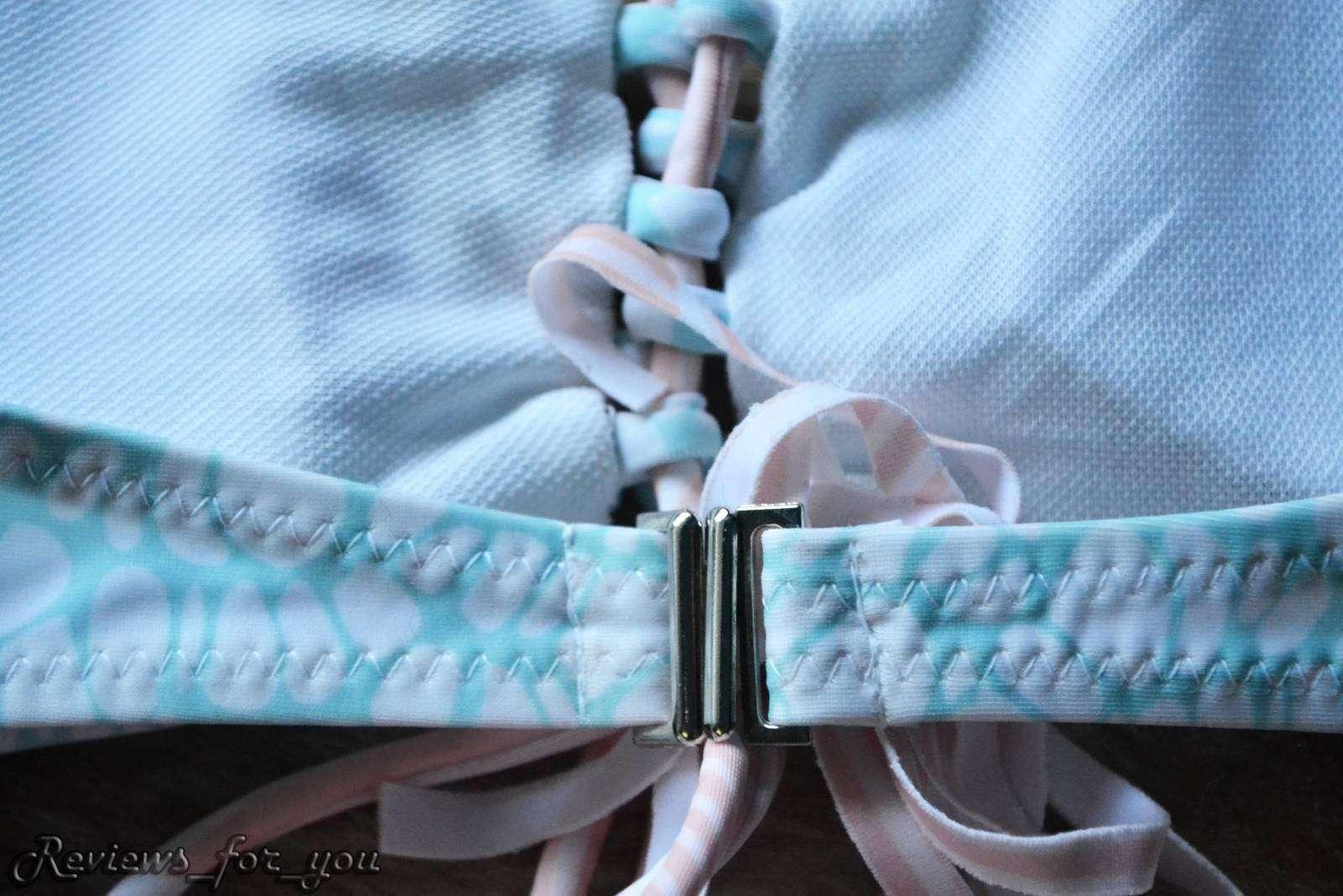 Aliexpress: Купальник нежного цвета, копия бренда VS