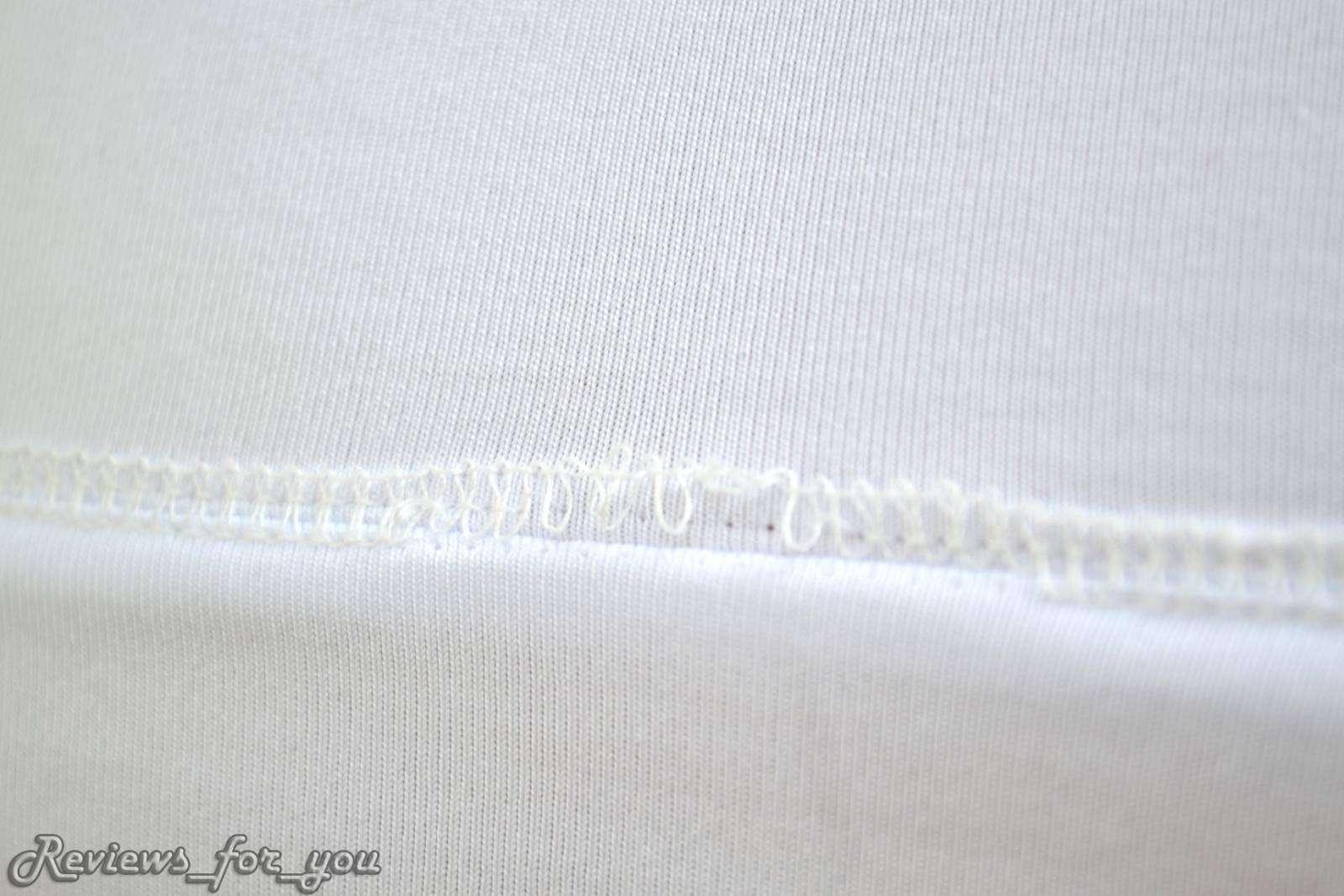 ChinaBuye: Мужская белая футболка 'в обтяжку'