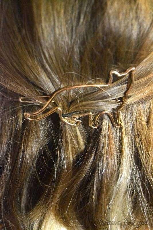 Aliexpress: Небольшой мультиобзор на женские аксессуары (2 чокера и заколка для волос в виде кота)