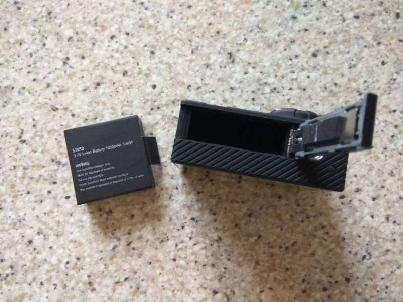 TomTop: Неплохая экшен камера Andoer 4K. 4К, 1080p 120fps и стабилизация.