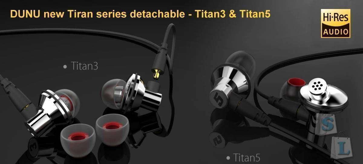 GearBest: Обзор Hi-Res наушников Dunu Titan 3 и Dunu Titan 5