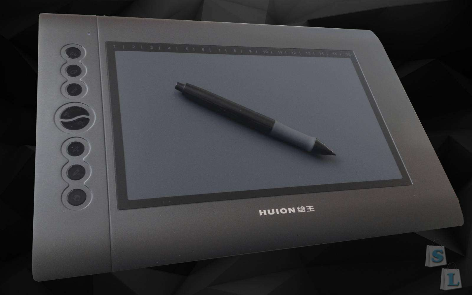 Banggood: Обзор графического планшета HUION H610PenTablet.